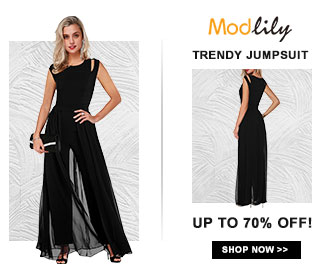 Modlily Trendy Jumpsuit: UP TO 70% OFF!