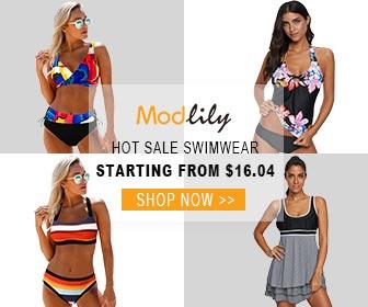 Modlily Hot Sale Swimwear:Starting From $16.04!