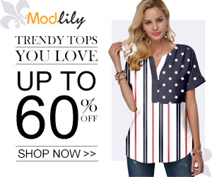 Modlily Trendy Tops: UP TO 60% OFF!