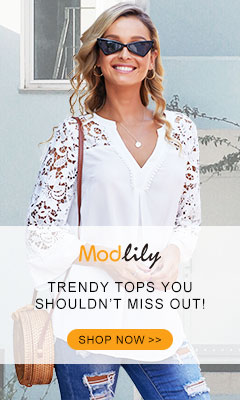 Modlily: Trendy Tops You Should NOT Miss Out!