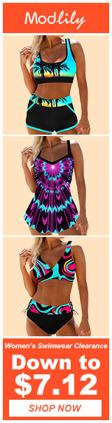 Modlily Clearance Swimwear Sale: Down to $7.12!