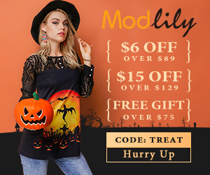 Modlily Halloween Promotions for YOU