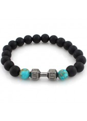 wholesale Bead Decorated Black Bracelet for Woman