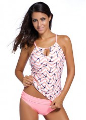 Keyhole Design Top and Panty Swimwear