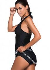 wholesale Halter Neck Top and Pantskirt Swimwear