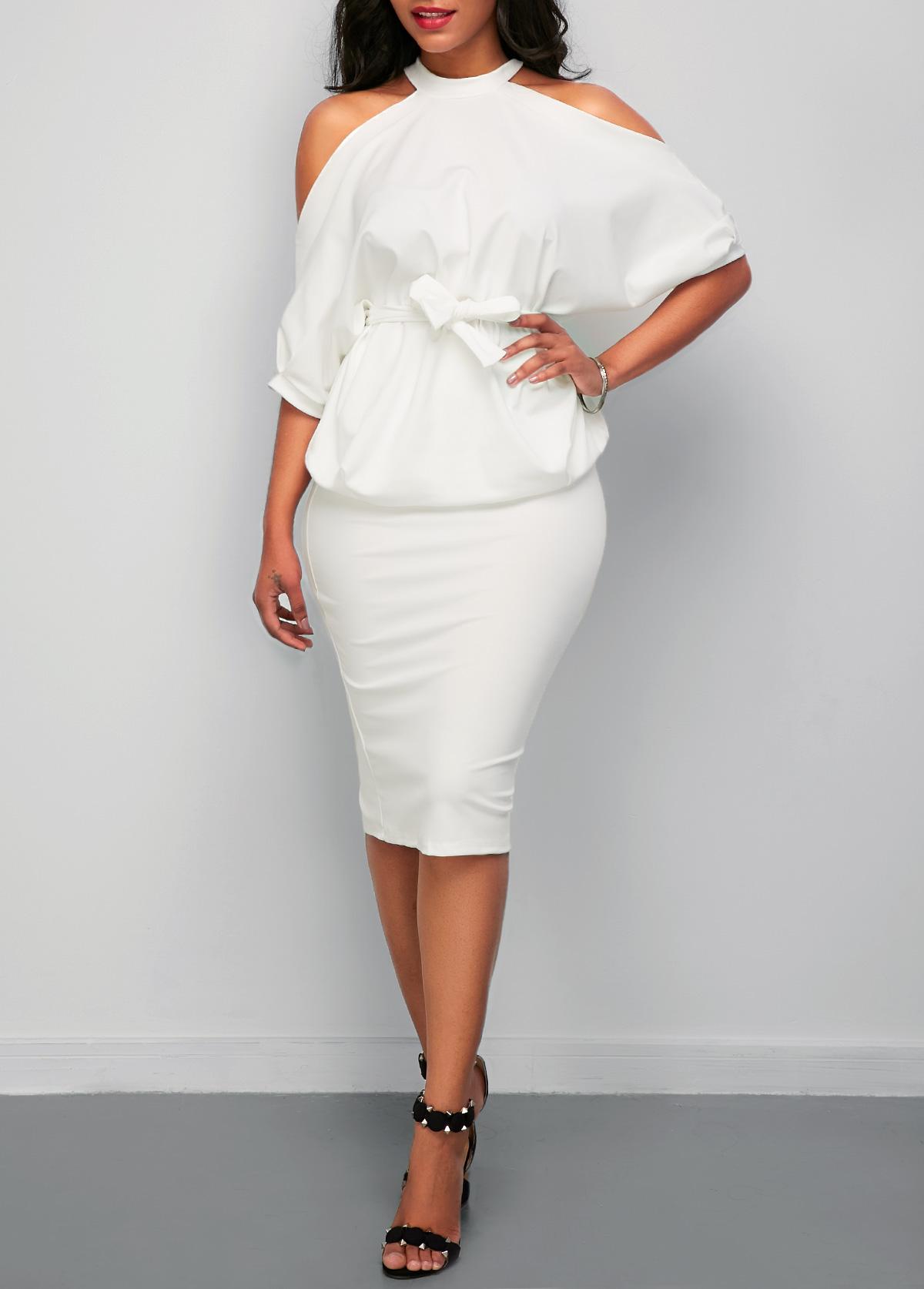 For juniors sale Deep V Neck Asymmetric Hem Printed Long Sleeve Maxi Dresses high
