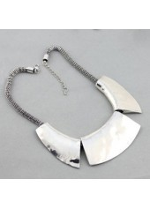 wholesale Silver Chain Chunky Choker Necklace