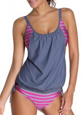 Open-Back-Printed-Grey-and-Rose-Tankini-Swimwear