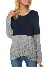 Color-Block-Long-Sleeve-Ribbed-Sweatshirt