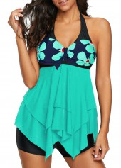 V-Neck-Asymmetric-Hem-Tankini-Set