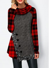 Asymmetric-Hem-Sequin-Panel-Button-Detail-Sweatshirt