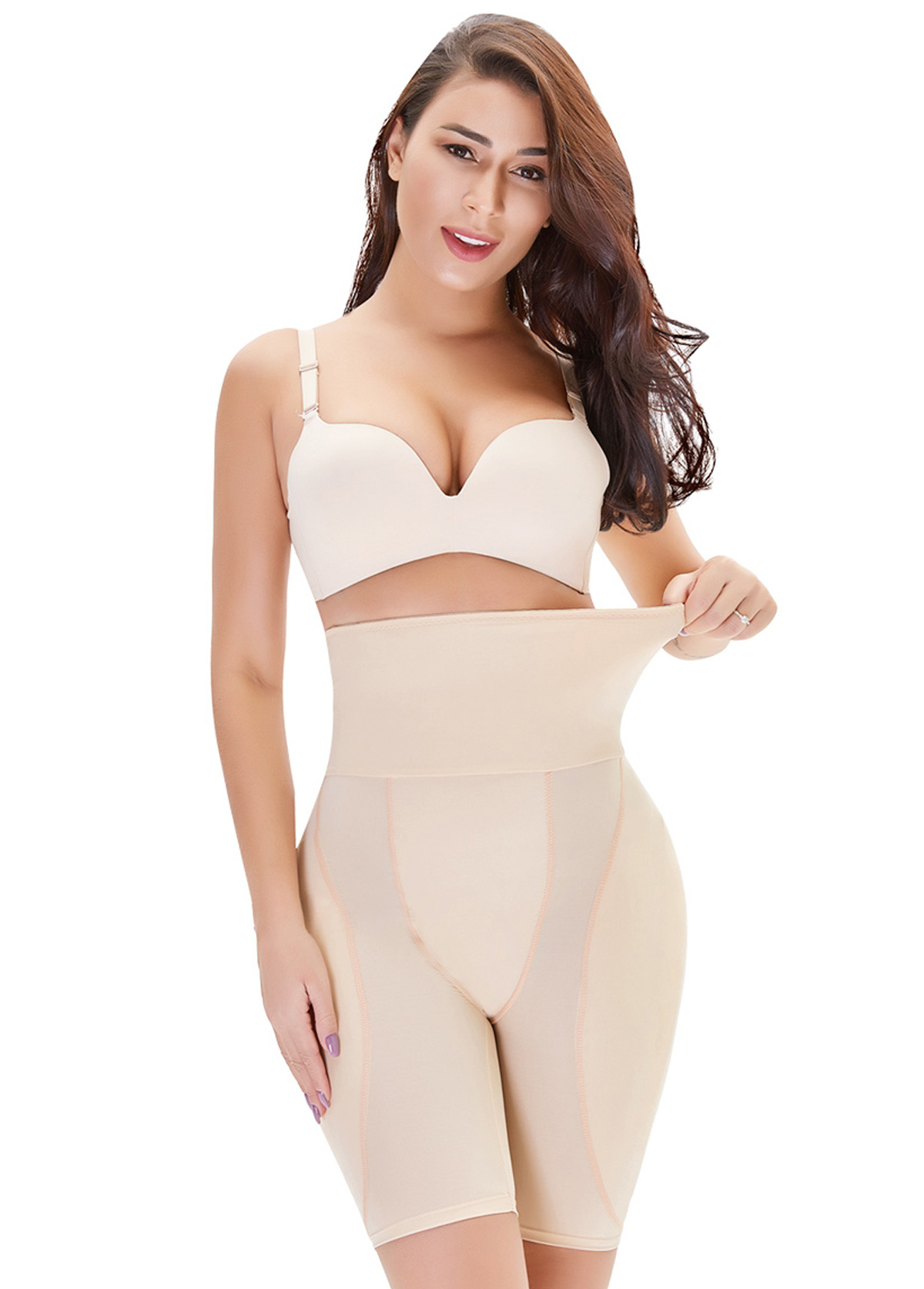 Skin Color Carry Buttock Shapewear Shorts