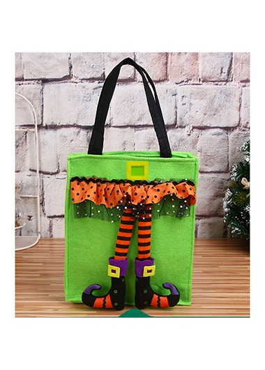 1pc 22 X 42cm Halloween Portable Candy Bag - One Size