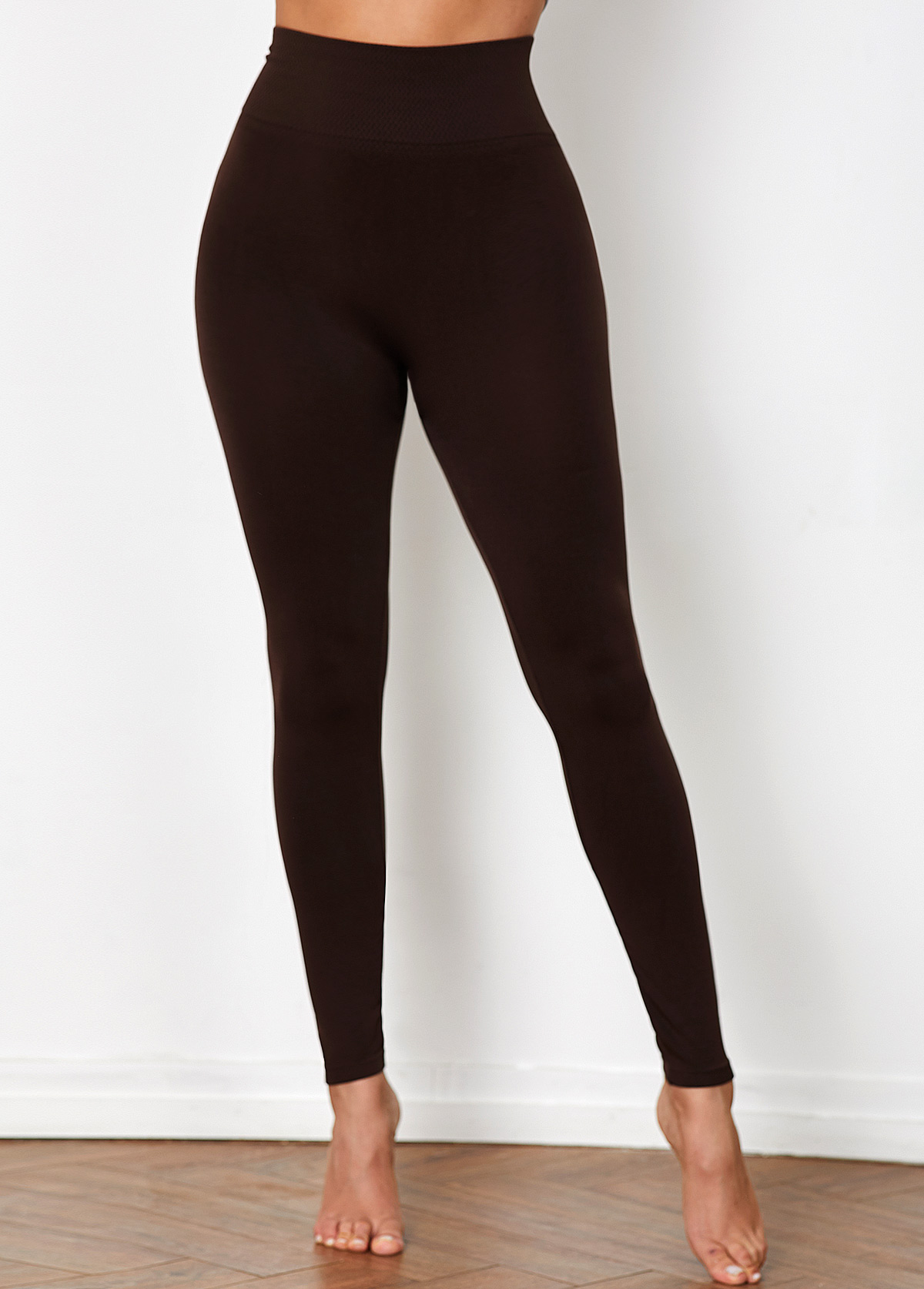 Brown High Waist Super Elastic Legging