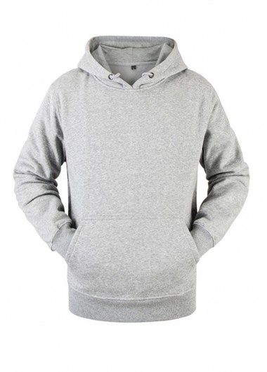 Kangaroo Pocket Long Sleeve Essentials Hoodie - 2XL
