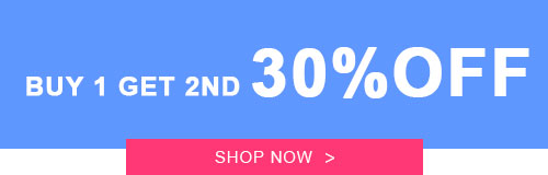 Buy 1 Get 2ND 30% OFF