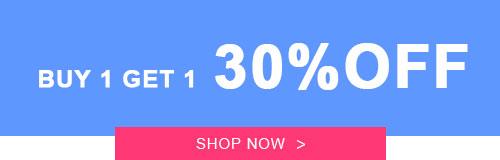 Buy 1 Get 1  30% OFF