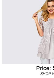 Lace Panel Half Sleeve Faux Two Piece T Shirt