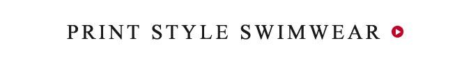 Print Style Swimwear