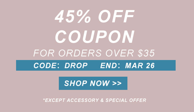 45% off coupon